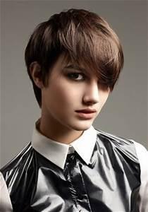 Modern Short Boyish Hairstyles For Women Short Boyish