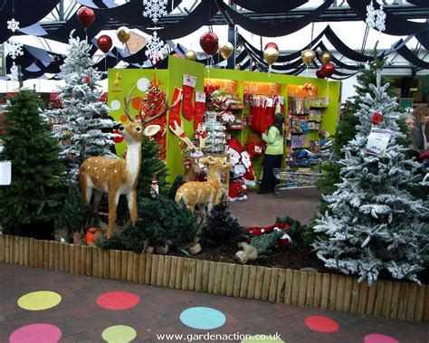 melbicks garden centre christmas shopping