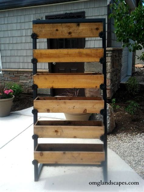 Vertical Garden Boxes by 17 Best Ideas About Vertical Planter On