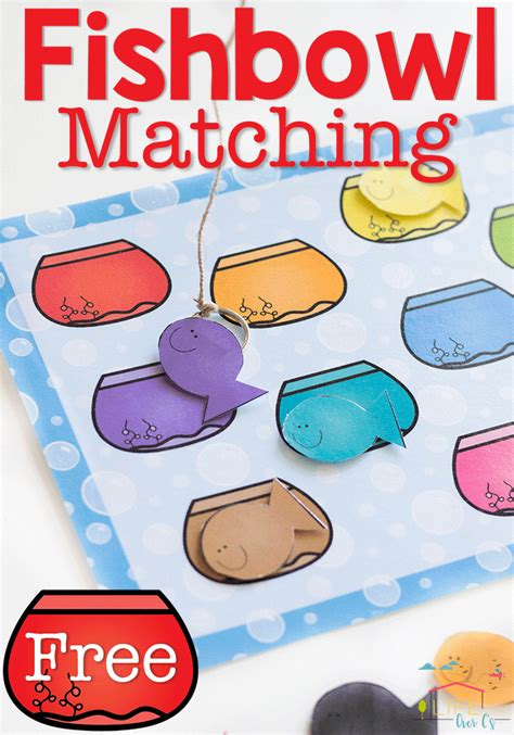 color matching fishbowl activity for preschoolers 337   29ce30377f3a7ead38330ad087f93bbf