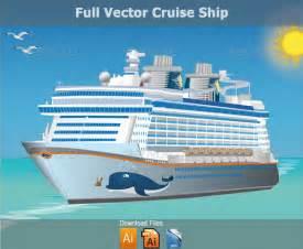 Free Vector Clip Art Cruise Ship