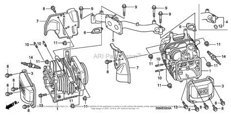 Honda Engines Gxvr Dxa Engine Jpn Vin Gjaek