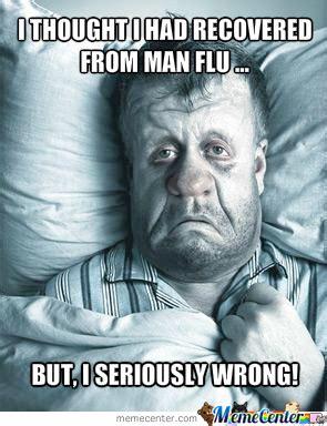 Man Flu Meme - man flu by esskayhombre meme center