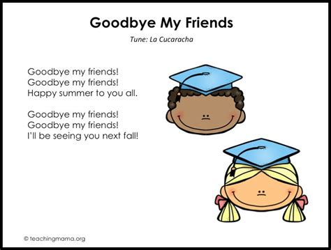 preschool graduation songs free printables amp more ideas 691 | Slide2