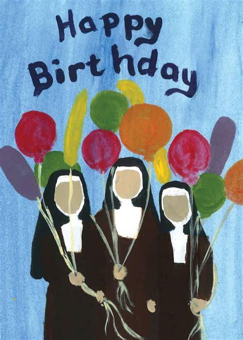 birthday cards carmelite sisters    sacred