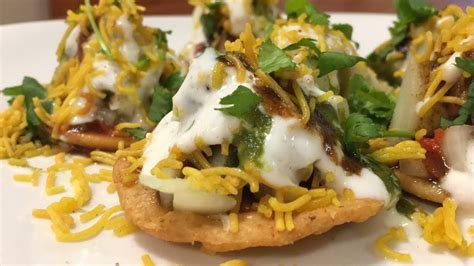 indian chaat cuisine dhahi papdi chaat chaat recipe indian food