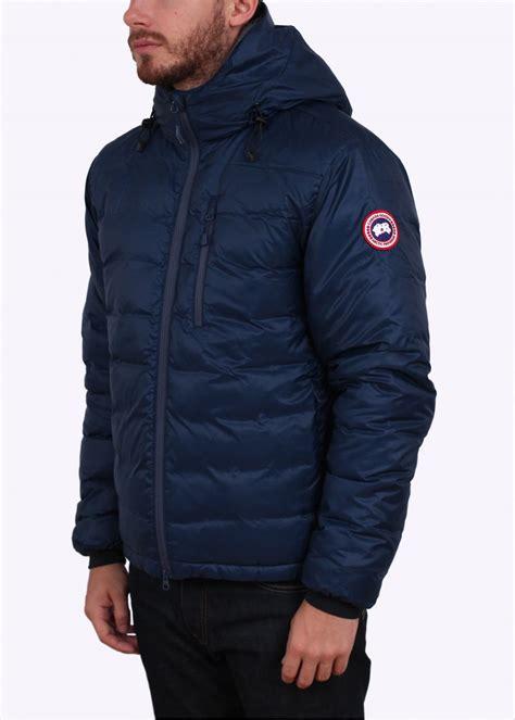 Canada Goose Lodge Hooded Down Jacket - Spirit Blue