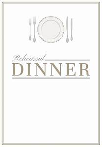 elegant setting free printable rehearsal dinner party With banquet invitation templates free