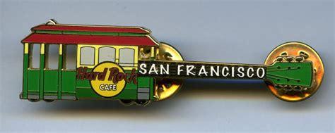 San Francisco - Hard Rock Cafe Guitar Pin | San Francisco ...