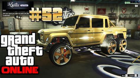 Для просмотра онлайн кликните на видео ⤵. GTA 5 ONLINE Dubsta 6X6 Benefactor Gangster Car Gold MERCEDES G 63 AMG 6X6 2016 Gameplay 1080p ...