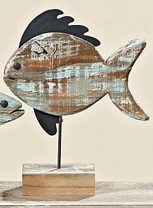 Fische Aus Holz : deko aufsteller fisch aus holz 30 x 37 cm k che haushalt werkstatt holz ~ Buech-reservation.com Haus und Dekorationen