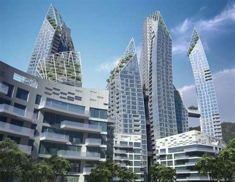 daniel libeskind reflections keppel bay singapore