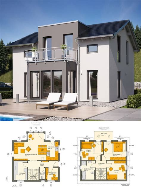 Modernes Haus Länglich by Modernes Haus Mit Satteldach Architektur Zwerchgiebel