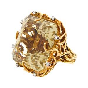 unique gemstone engagement rings yellow citrine ring engagement ring unique engagement ring