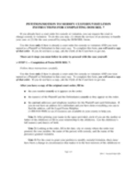 colorado form motion to restrict parenting time child custody form 44 free templates in pdf word excel