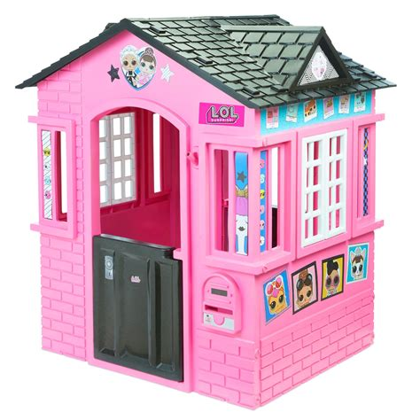 lol surprise cottage playhouse  glitter  tikes
