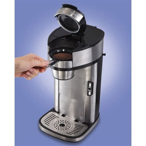 We reviewed the hamilton beach 49981a coffee maker and here's what we found out. Hamilton Beach The Scoop Single Serve Coffee Maker