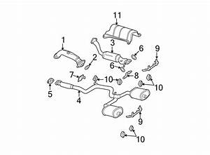 Chevrolet Monte Carlo Gasket  Converter  Pipe   Front
