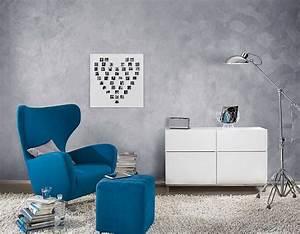 Wandfarbe Silber Glänzend : wandgestaltung w nde mit coolen strukturen gestalten ~ Michelbontemps.com Haus und Dekorationen