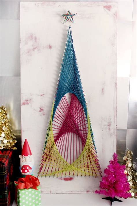 string art christmas tree tutorial ehow