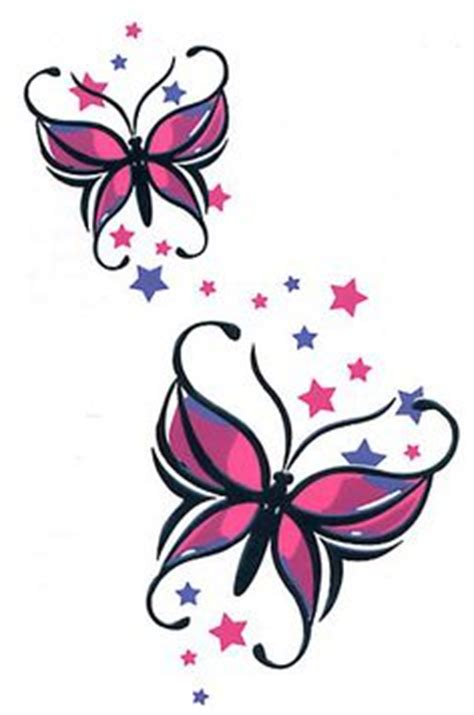 butterfly temporary tattoos  pinterest temporary
