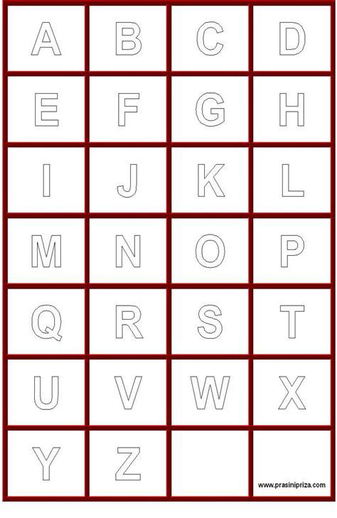 Alphabet Outline Alphabet Letters Outline Alphabet Coloring Pages Capital