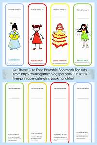Free Printable Cute s Bookmark ~ Parenting Times