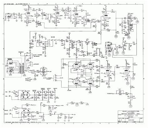 Peavey Speaker Wiring Diagram by Guitartech November 2010