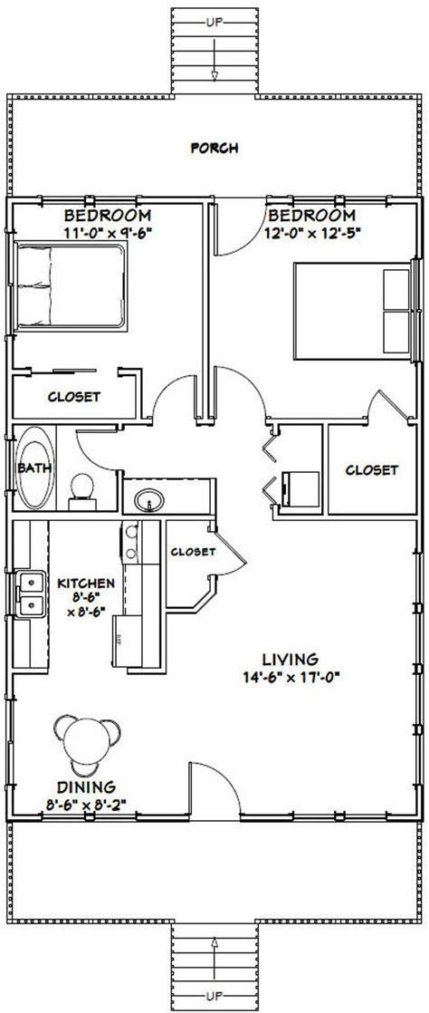 house  bedroom  bath  sq ft  floor plan etsy single story house floor plans