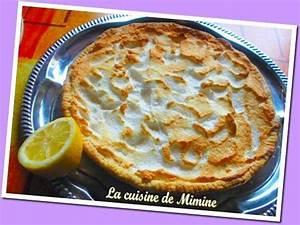 Recette Tarte Citron Meringuée Facile : tarte au citron recette marmiton ~ Nature-et-papiers.com Idées de Décoration