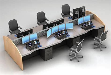 multi computer desk multi position desking trading desk mainline computer