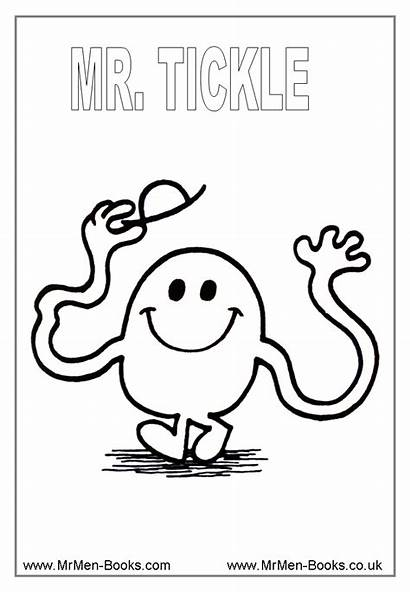 Mr Coloring Miss Colouring Characters Litltle Templates