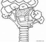 Coloring Tree Printable sketch template