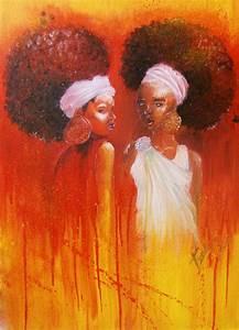 Black Women Art! – ooorange by ~BuGuBu