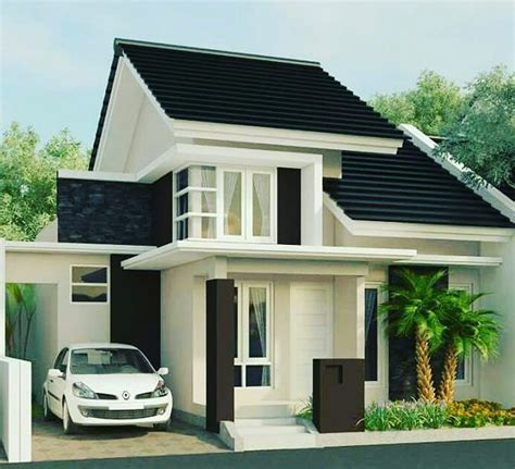 bentuk rumah sederhana tapi elegan desain rumah