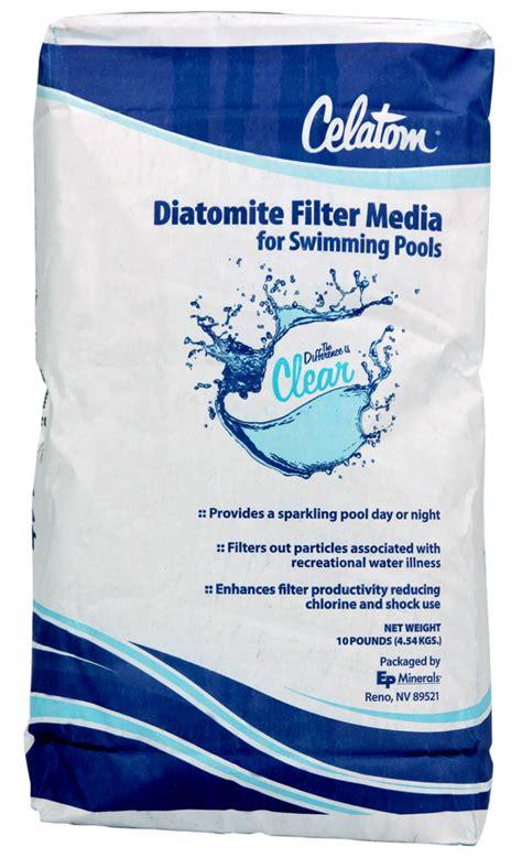Swimming Pool Diatomaceous Earth De Powder Diatomite
