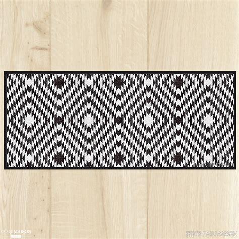 tapis de cuisine gris tapis de cuisine carreaux de ciment côte paillasson