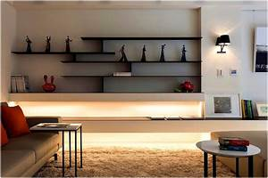 living room wall shelf decorating ideas living room With shelving designs for living room