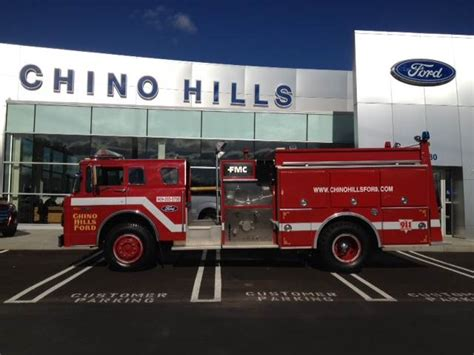Chino Hills Ford To Showcase Legendary 1988 Fire Truck At