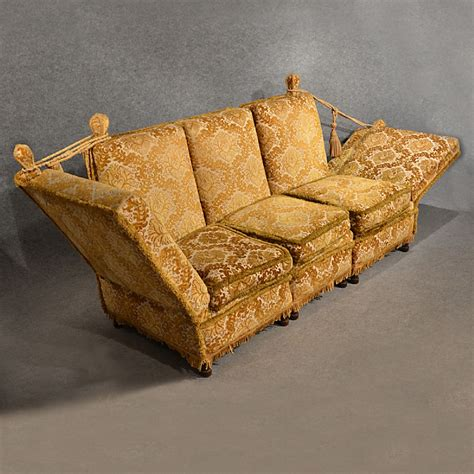 Knole Settee For Sale by Antique Knole Sofa Settee Large 3 Seater Day Bed