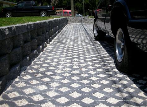 permeable driveway options turfstone pavers permeable to allow water to drain where it falls rather than contributing to