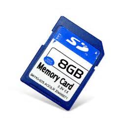 Fding 8GB Class 4 SDHC Flash Memory Card