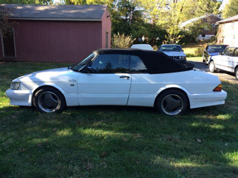 1989 Saab 900 Converible Manual Turbo W/ Carlsson Airflow
