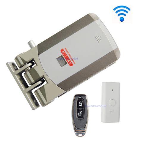 wifi door locks wireless door lock electric home anti theft lock for home