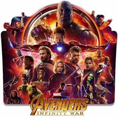 Avengers Infinity War Icon Folder Movie Avenger