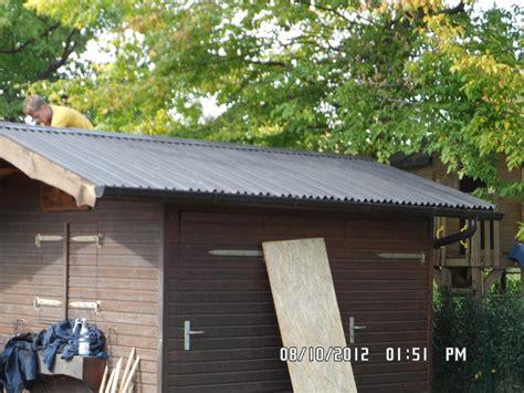 Gartenhaus Dach Abdichten Gartenhaus Dach Blech