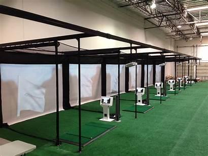 Indoor Golf Driving Range Simulators Center Simulator