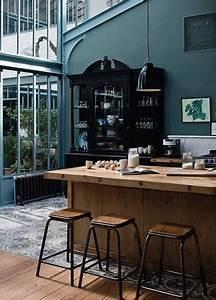 Deco Bleu Petrole : la cuisine bleu on l 39 adore deco cool ~ Farleysfitness.com Idées de Décoration