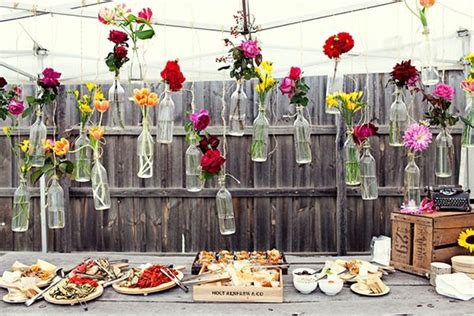 Garten Geburtstagsparty Deko by Garten Deko Ideen Blumen Vintage Tisch Ideen Rund