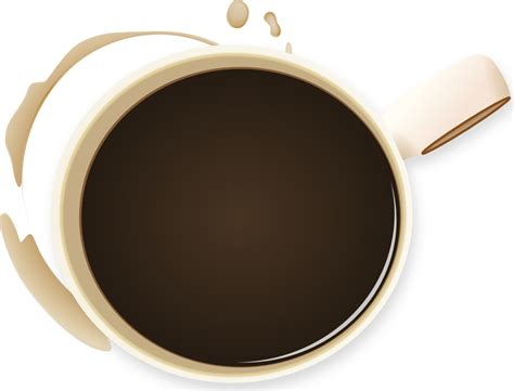 onlinelabels clip art coffee cup  stained